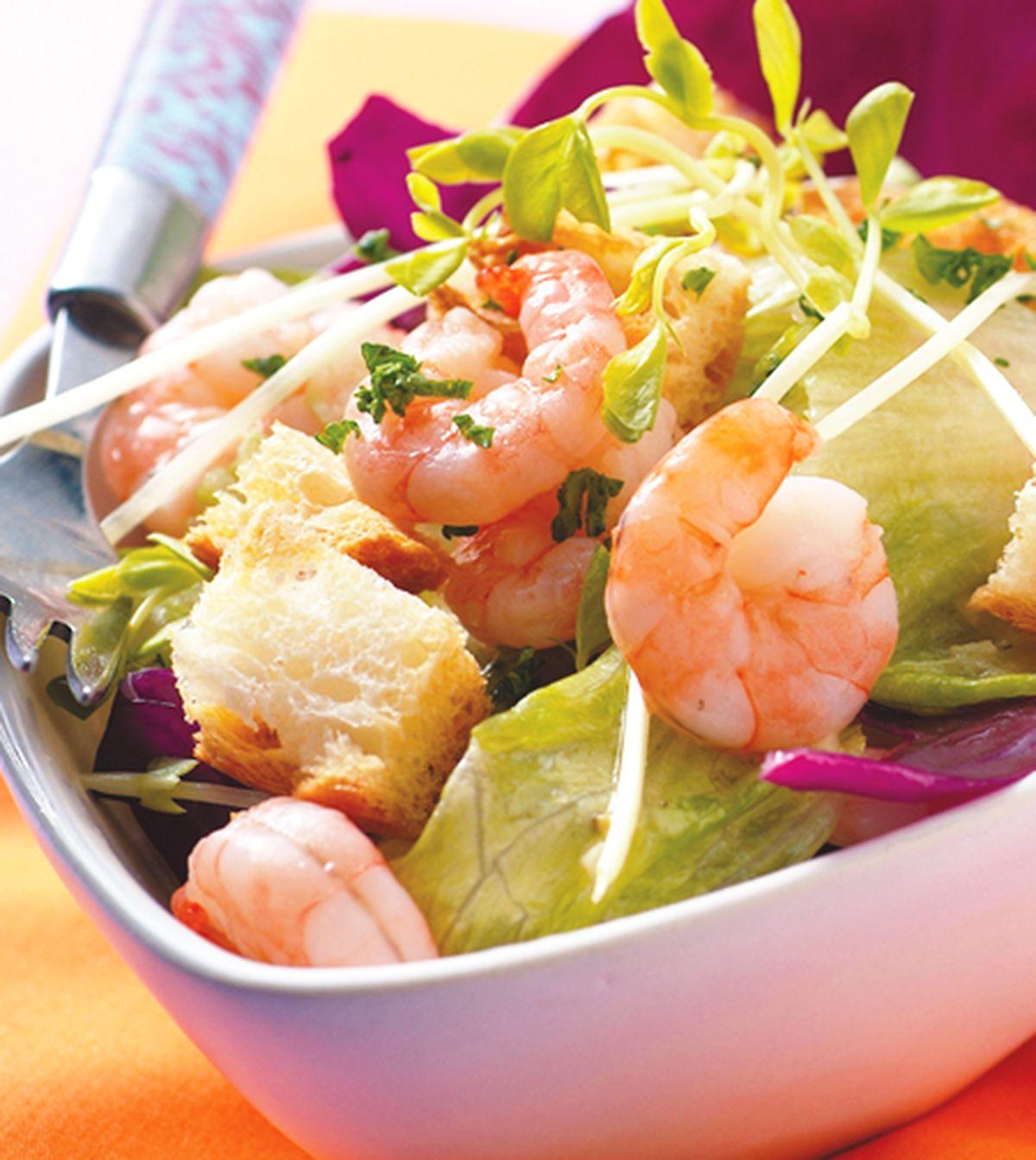 食譜:蝦仁沙拉