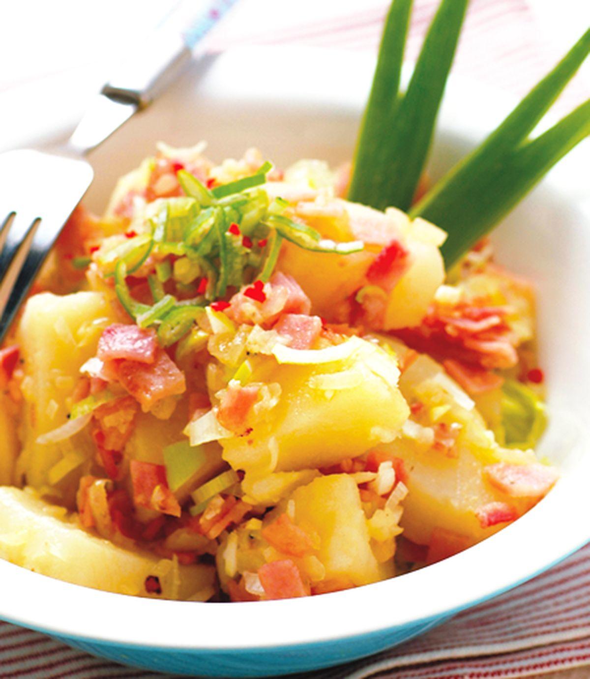 食譜:馬鈴薯培根沙拉