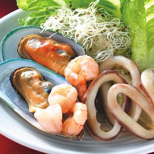 金色海鮮沙拉