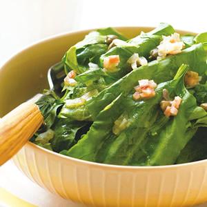 酸豆培根波菜沙拉