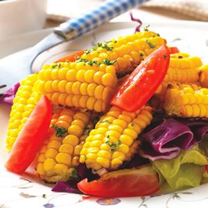 法式烤玉米沙拉