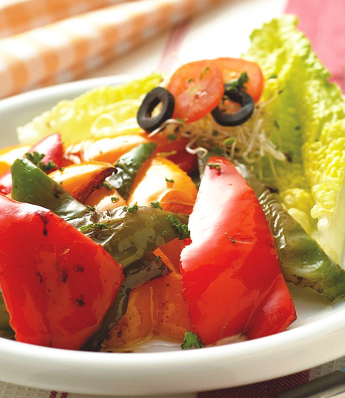 食譜:烤甜椒沙拉