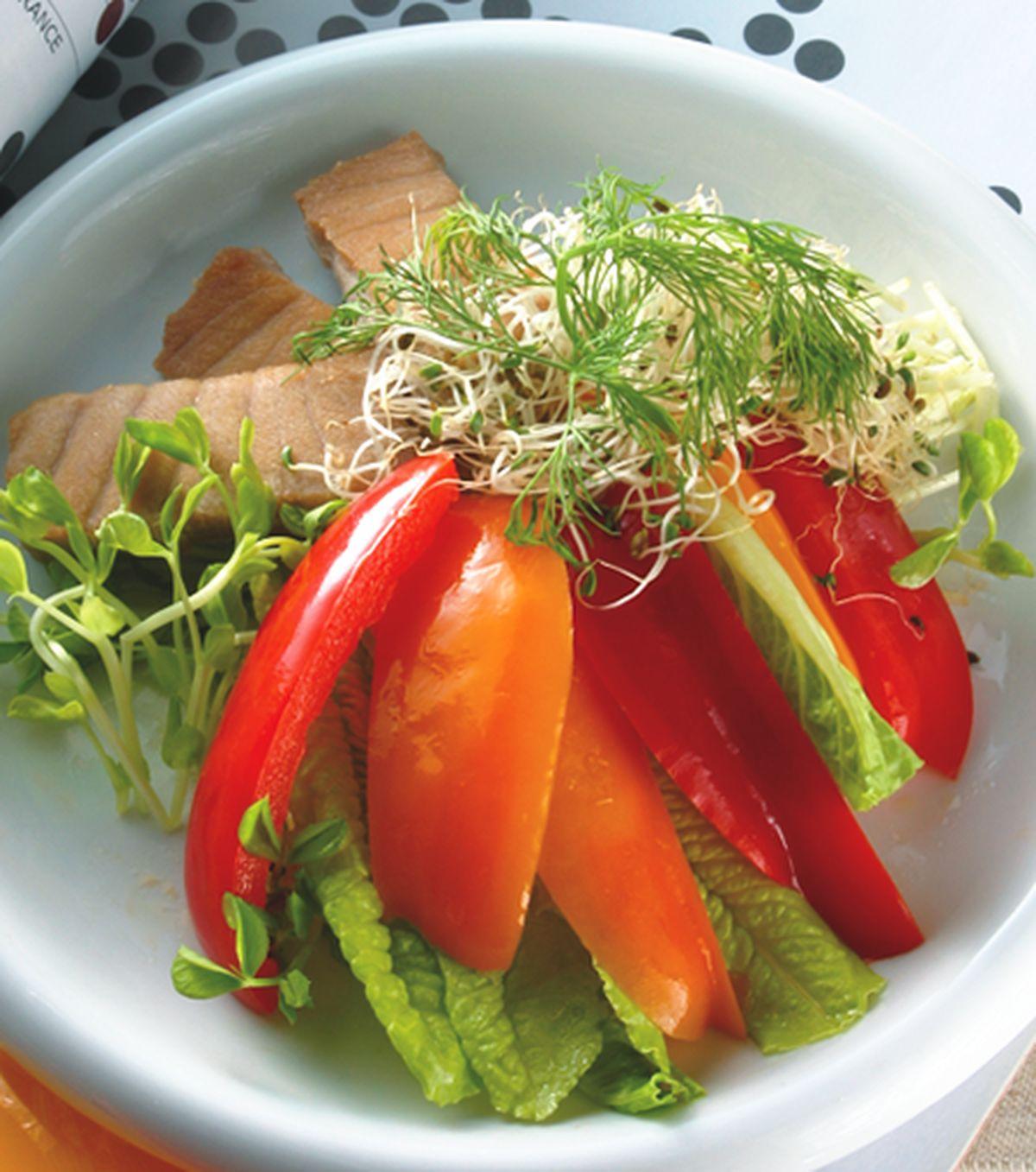 食譜:鮪魚甜椒沙拉