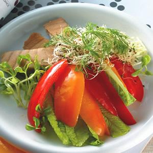 鮪魚甜椒沙拉