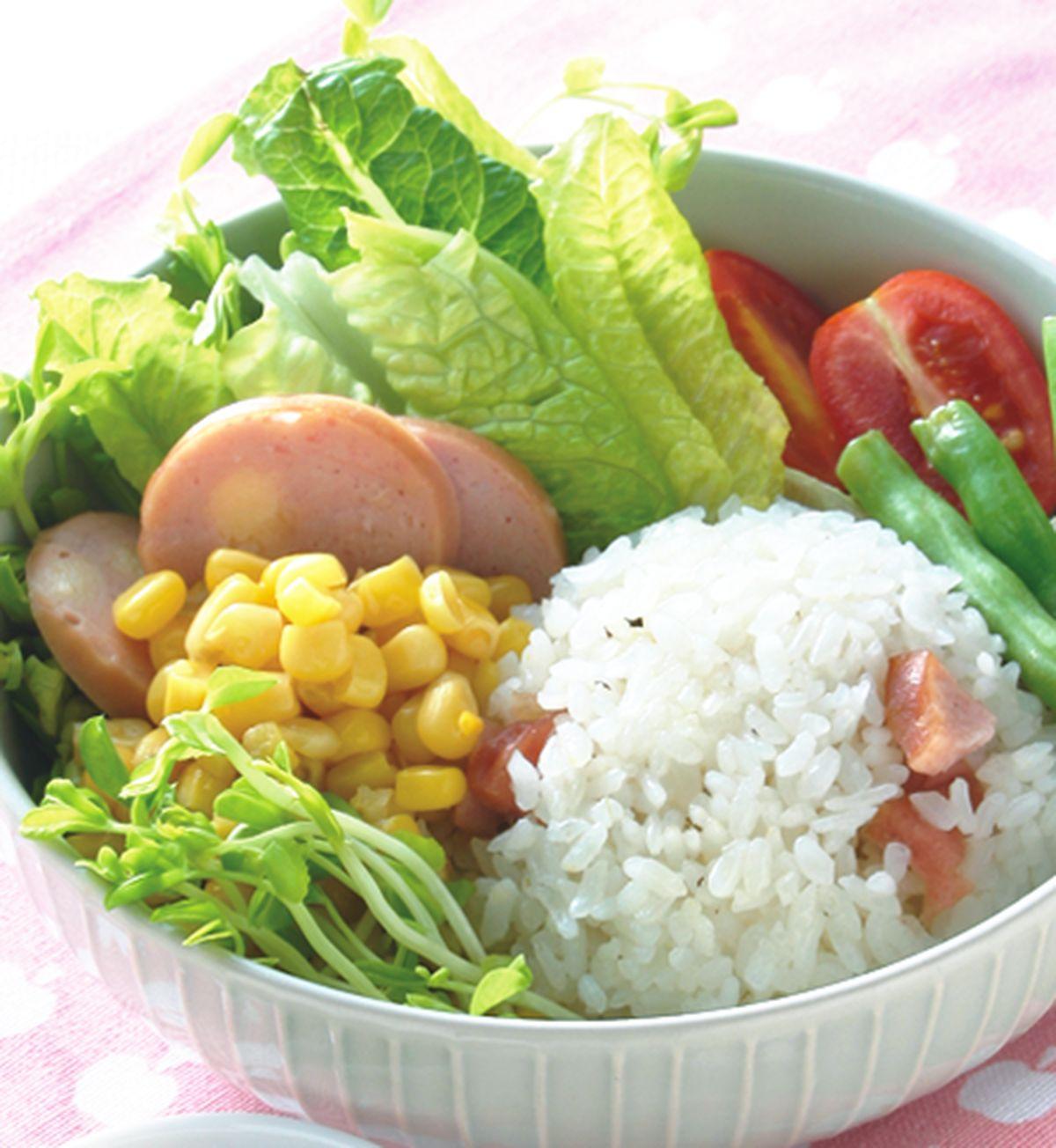 食譜:起司香腸米沙拉