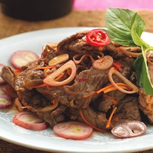 涼拌炒牛肉