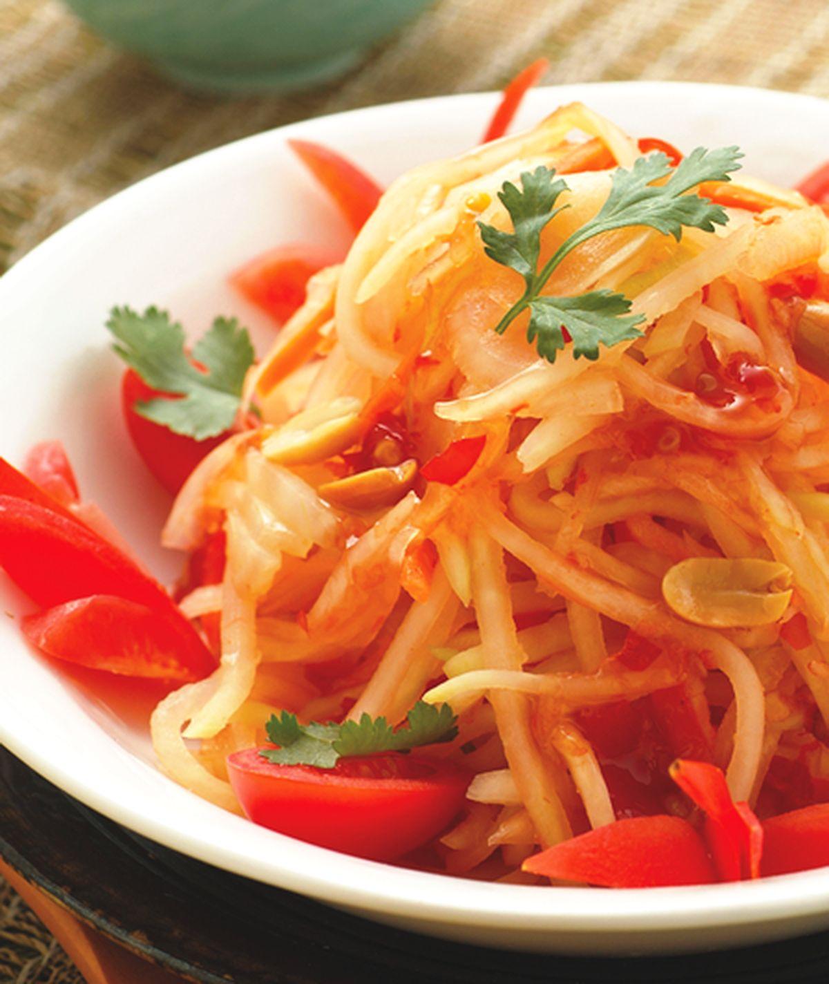 食譜:涼拌青木瓜絲