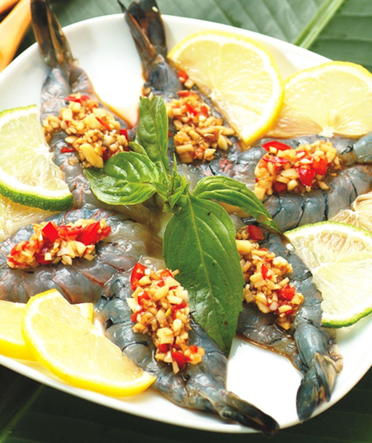食譜:泰式涼拌生蝦