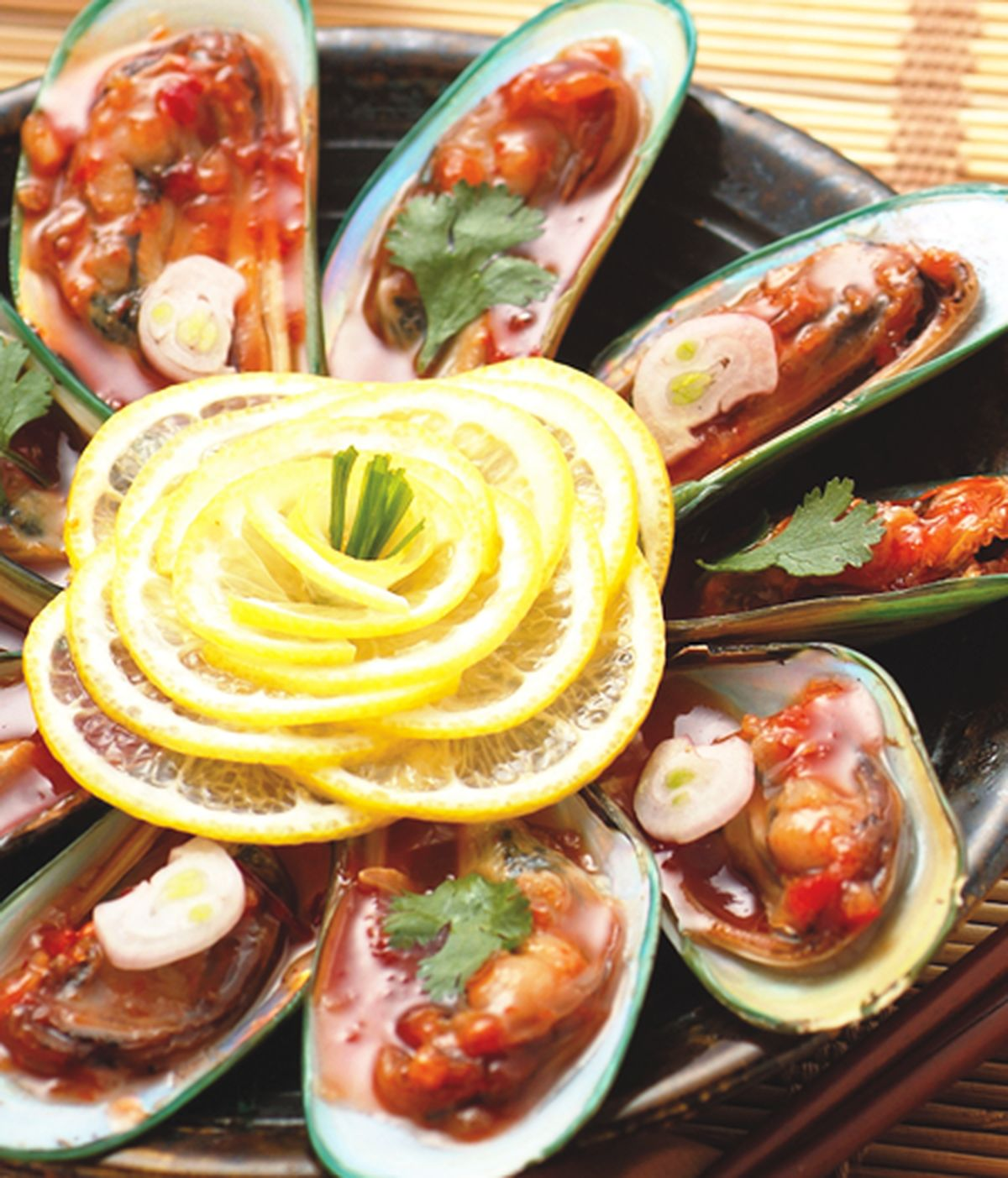 食譜:南洋酸甜貽貝