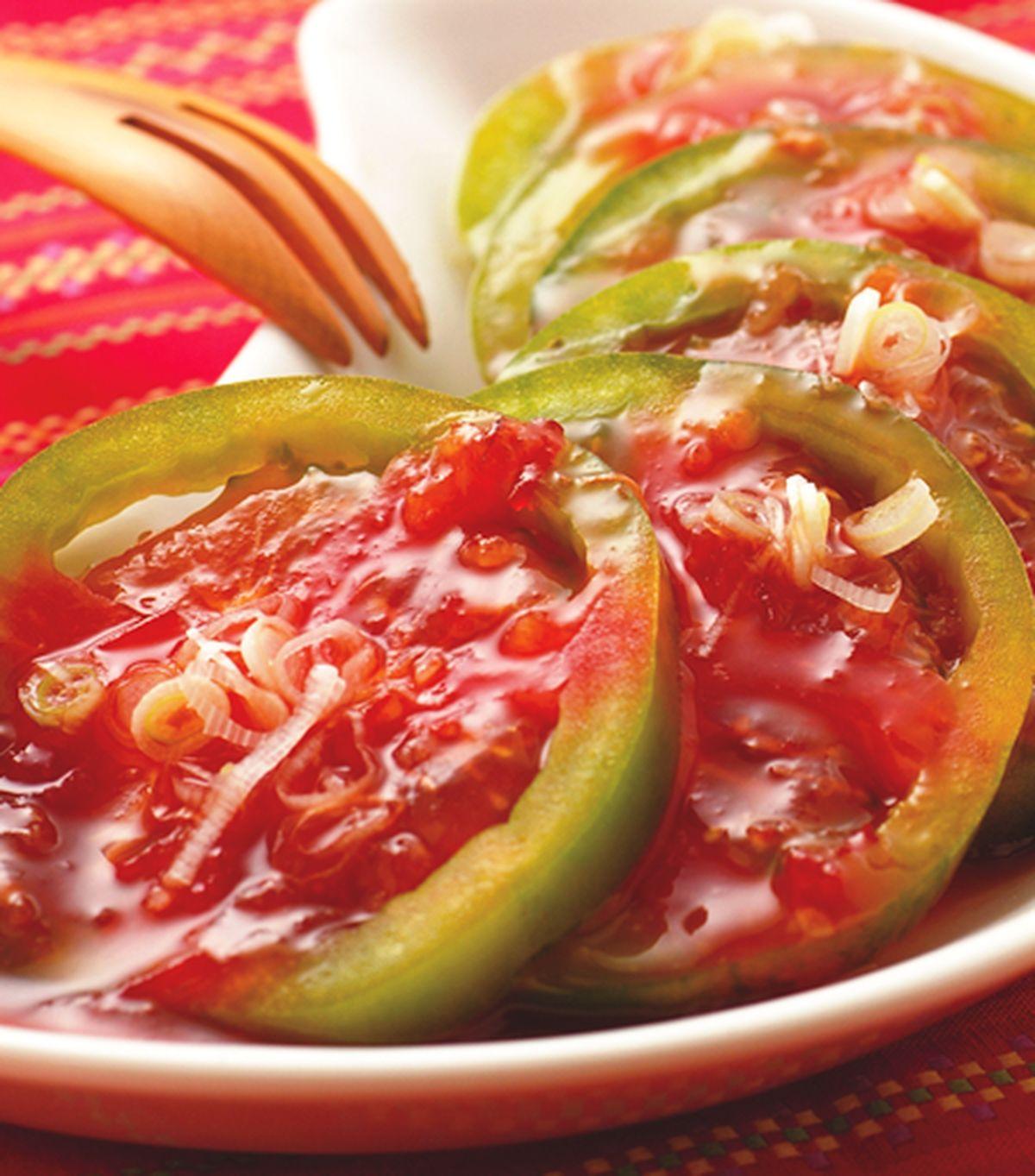 食譜:泰式涼拌蕃茄