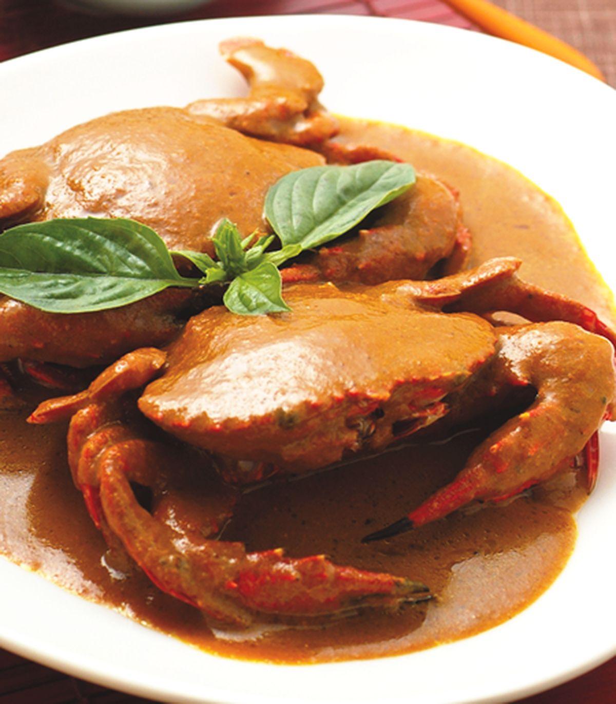 食譜:咖哩螃蟹(2)