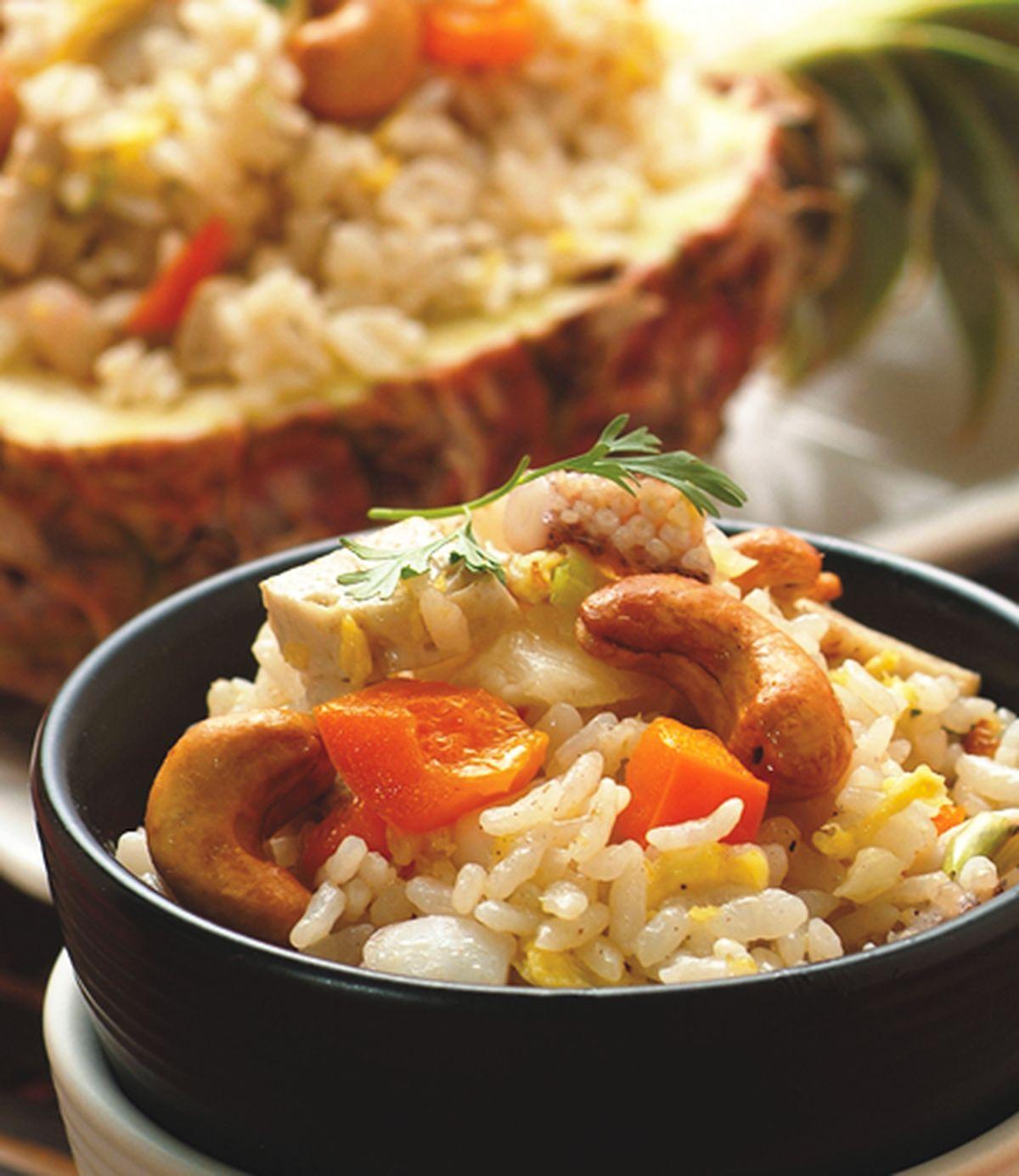 食譜:菠蘿炒飯