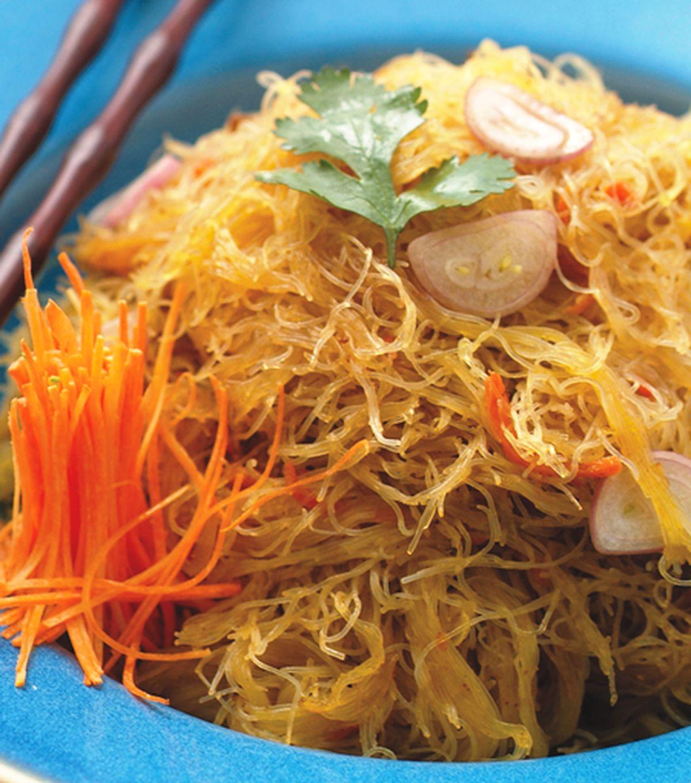 食譜:南洋咖哩米粉