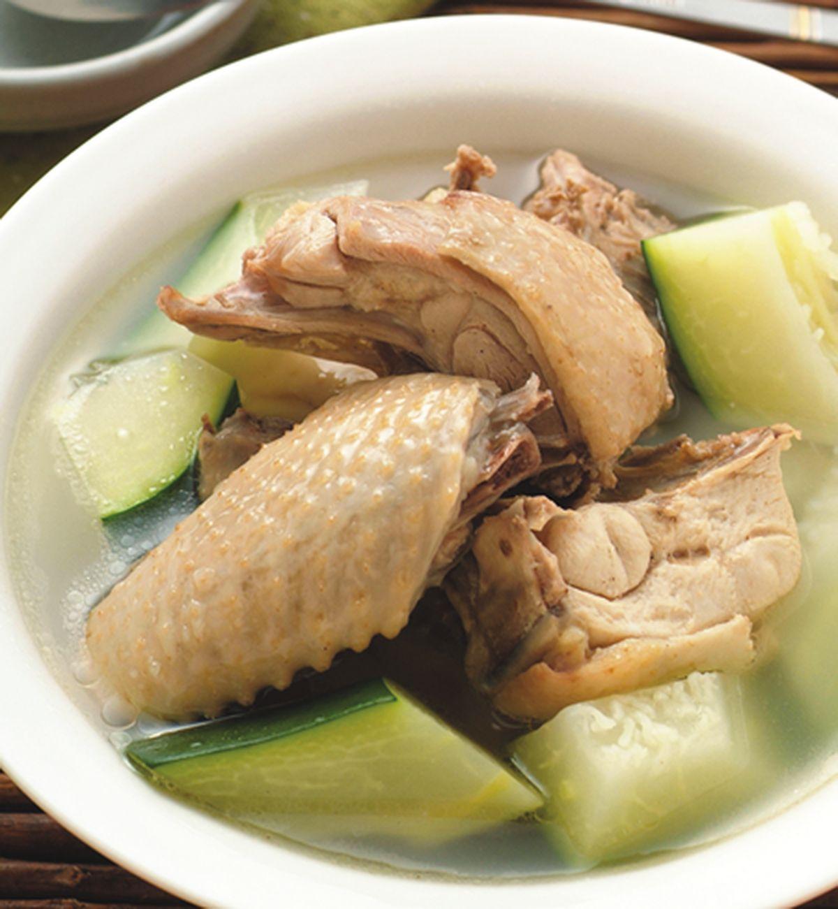 食譜:青木瓜燉雞