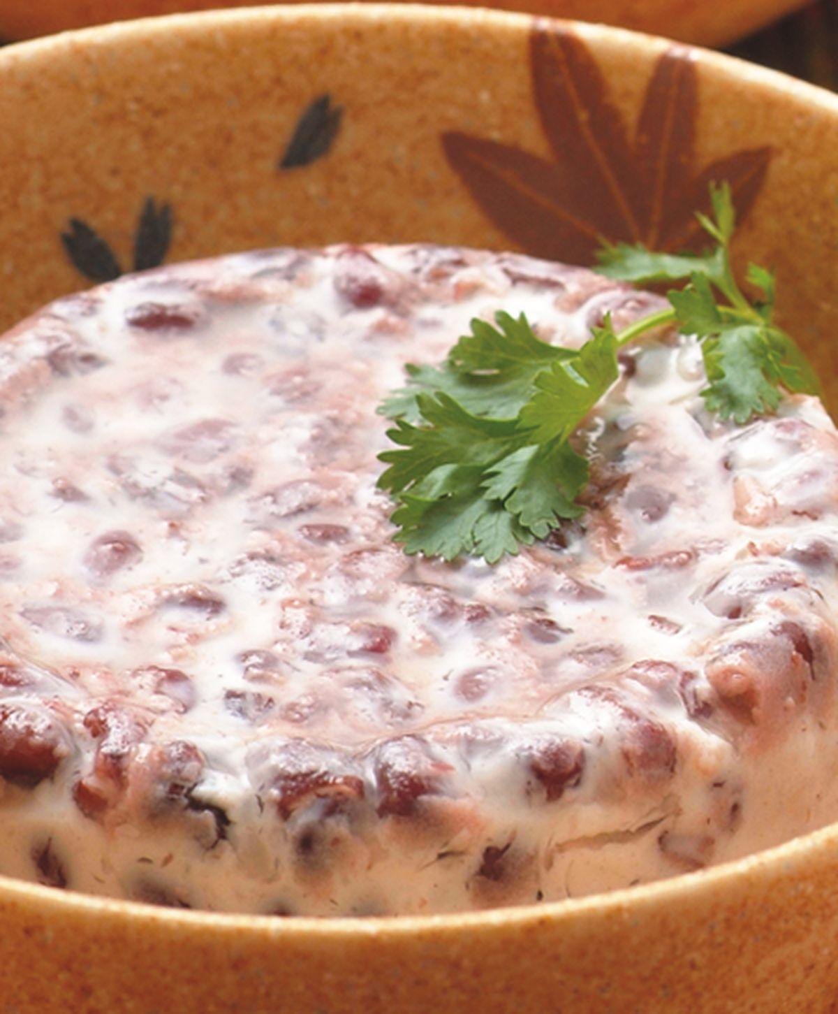 食譜:椰汁紅豆凍