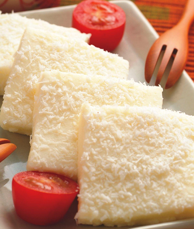 食譜:奶香椰子糕