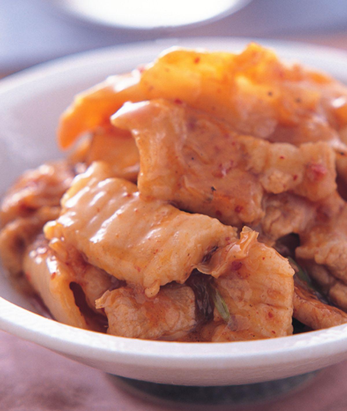 食譜:韓式泡菜五花肉