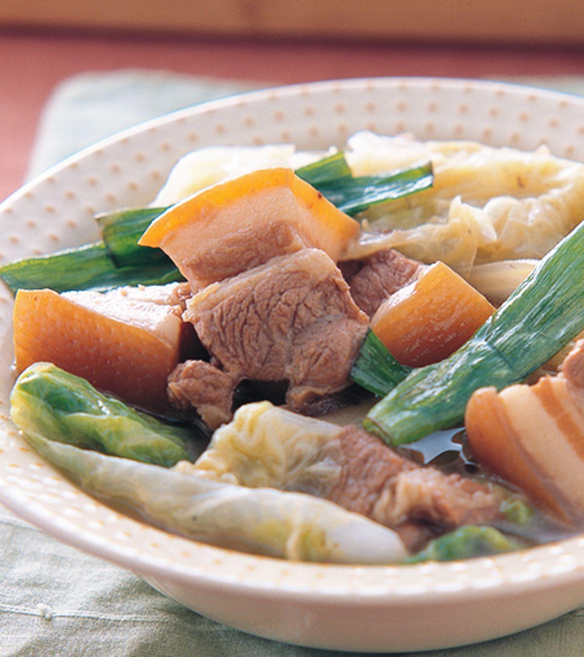 食譜:大白菜滷五花肉