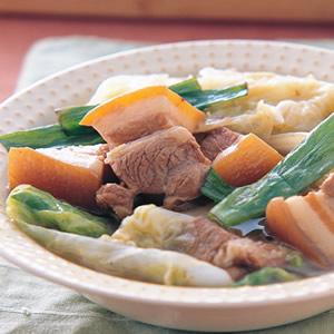 大白菜滷五花肉