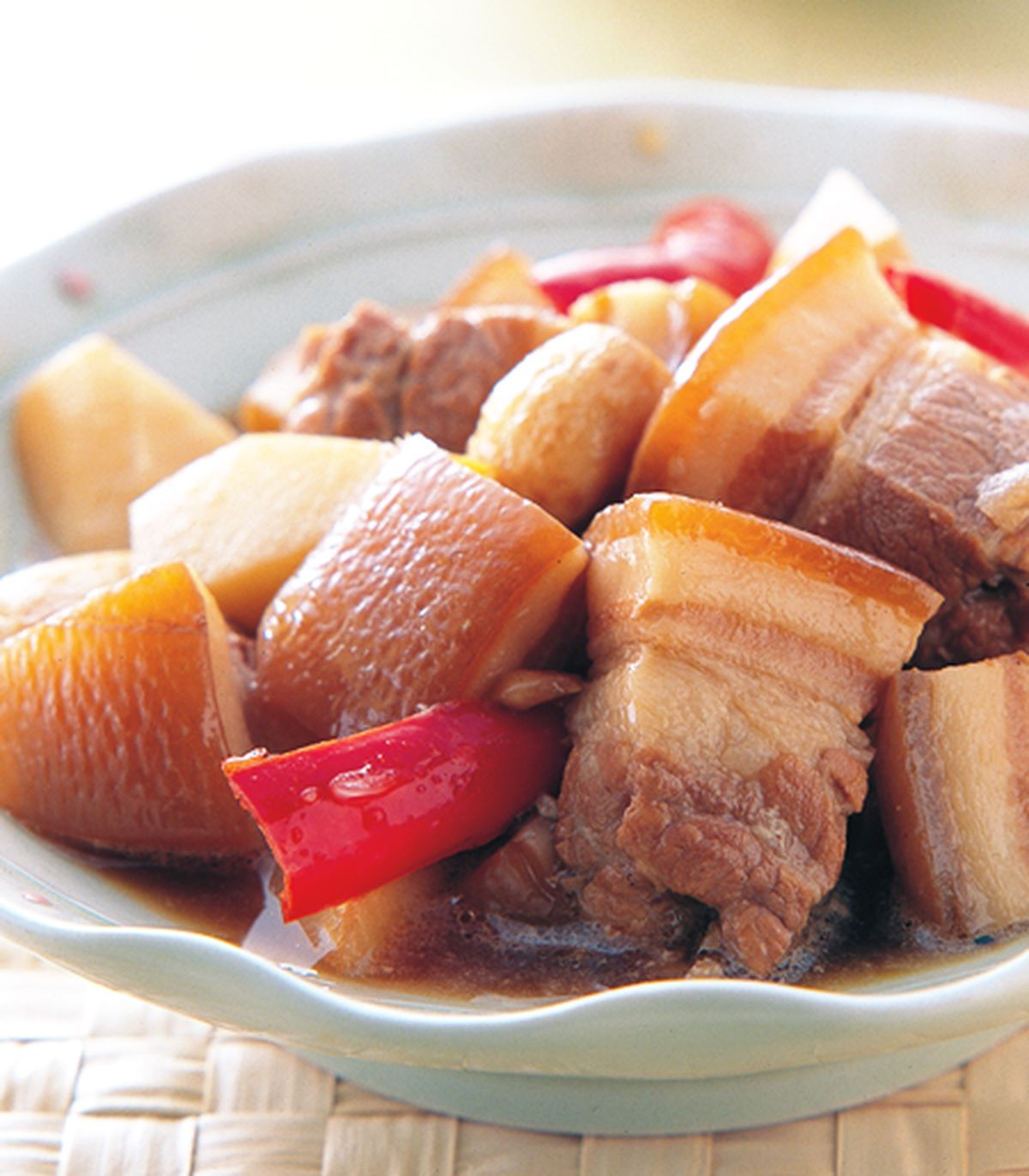 食譜:筍塊燒肉