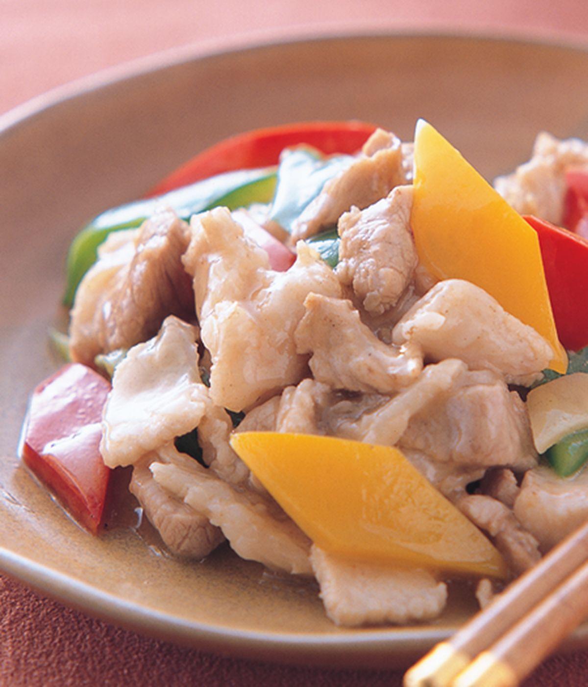 食譜:甜椒炒肉
