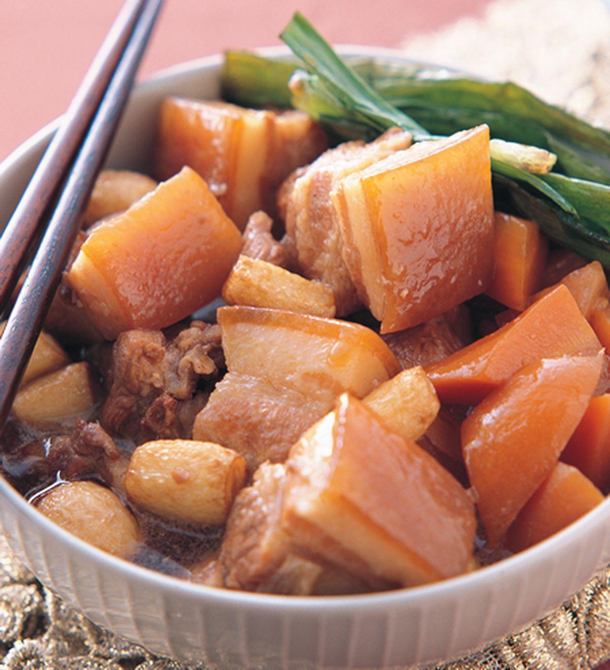 食譜:紅蘿蔔燒肉