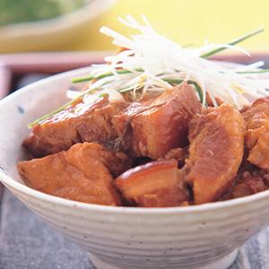 油豆腐燒肉