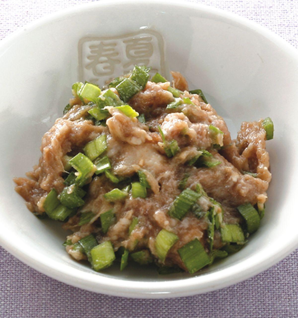 食譜:韭菜牛肉蒸餃