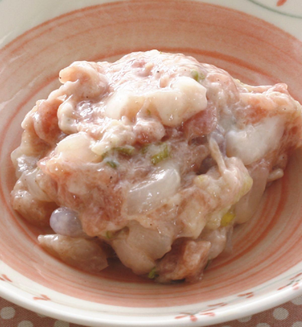 食譜:鮮干貝豬肉蒸餃
