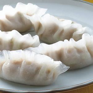 鮮蚵豬肉蒸餃