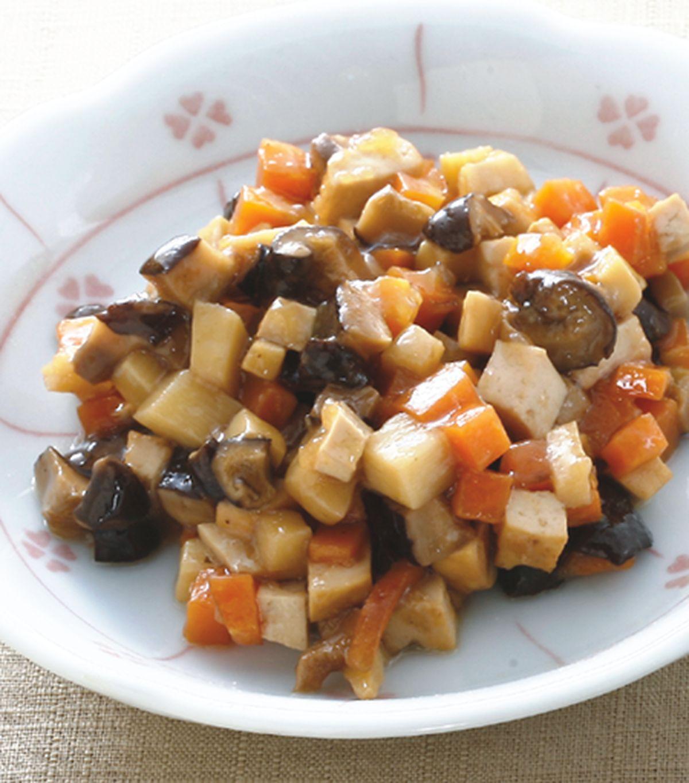 食譜:香菇筍丁素蒸餃