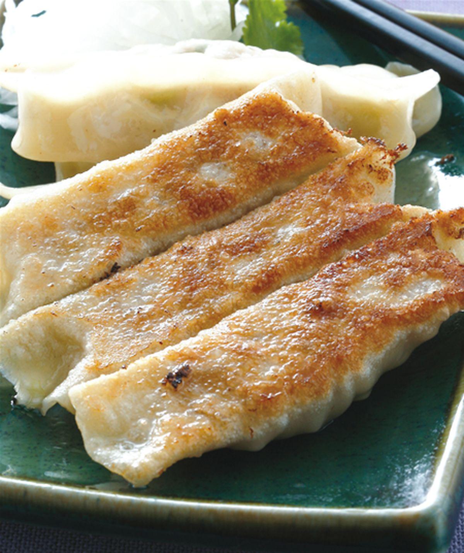 食譜:高麗菜豬肉鍋貼