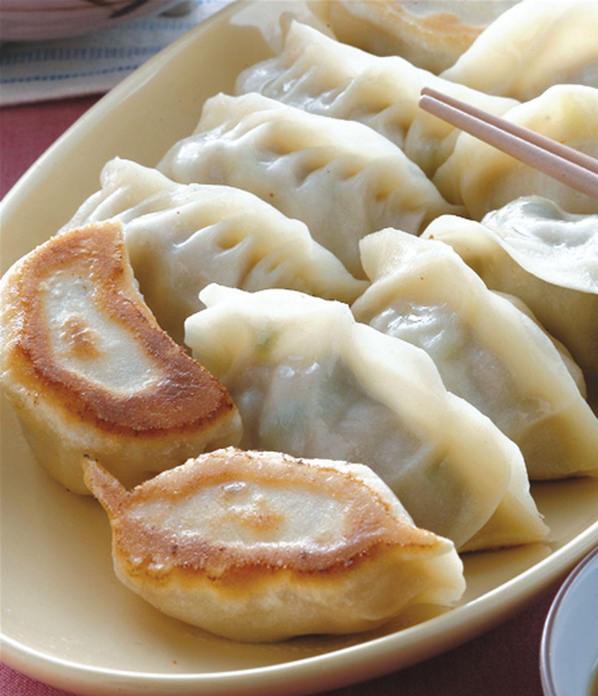食譜:蘿蔔絲豬肉鍋貼