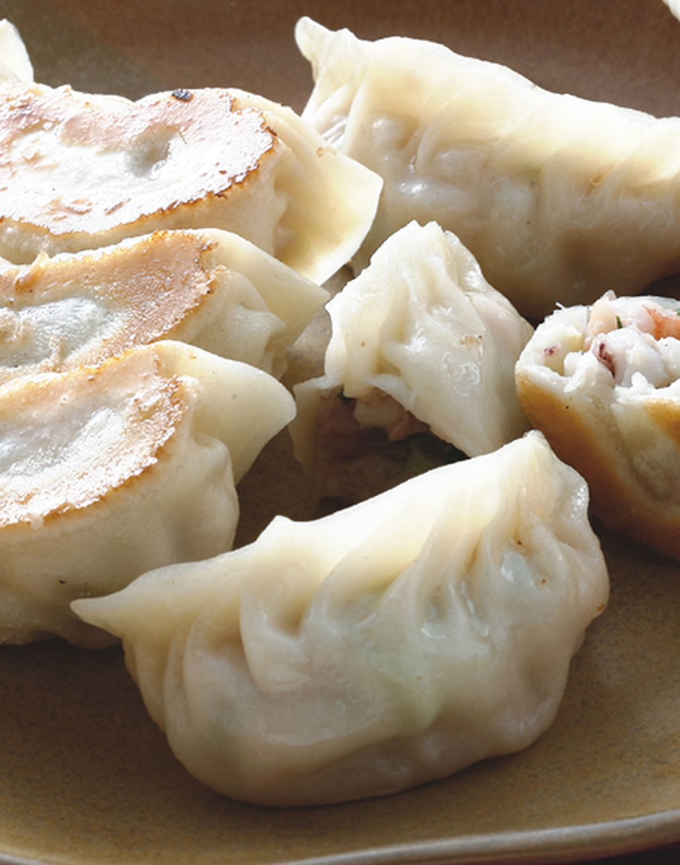 食譜:魷魚鮮蝦煎餃