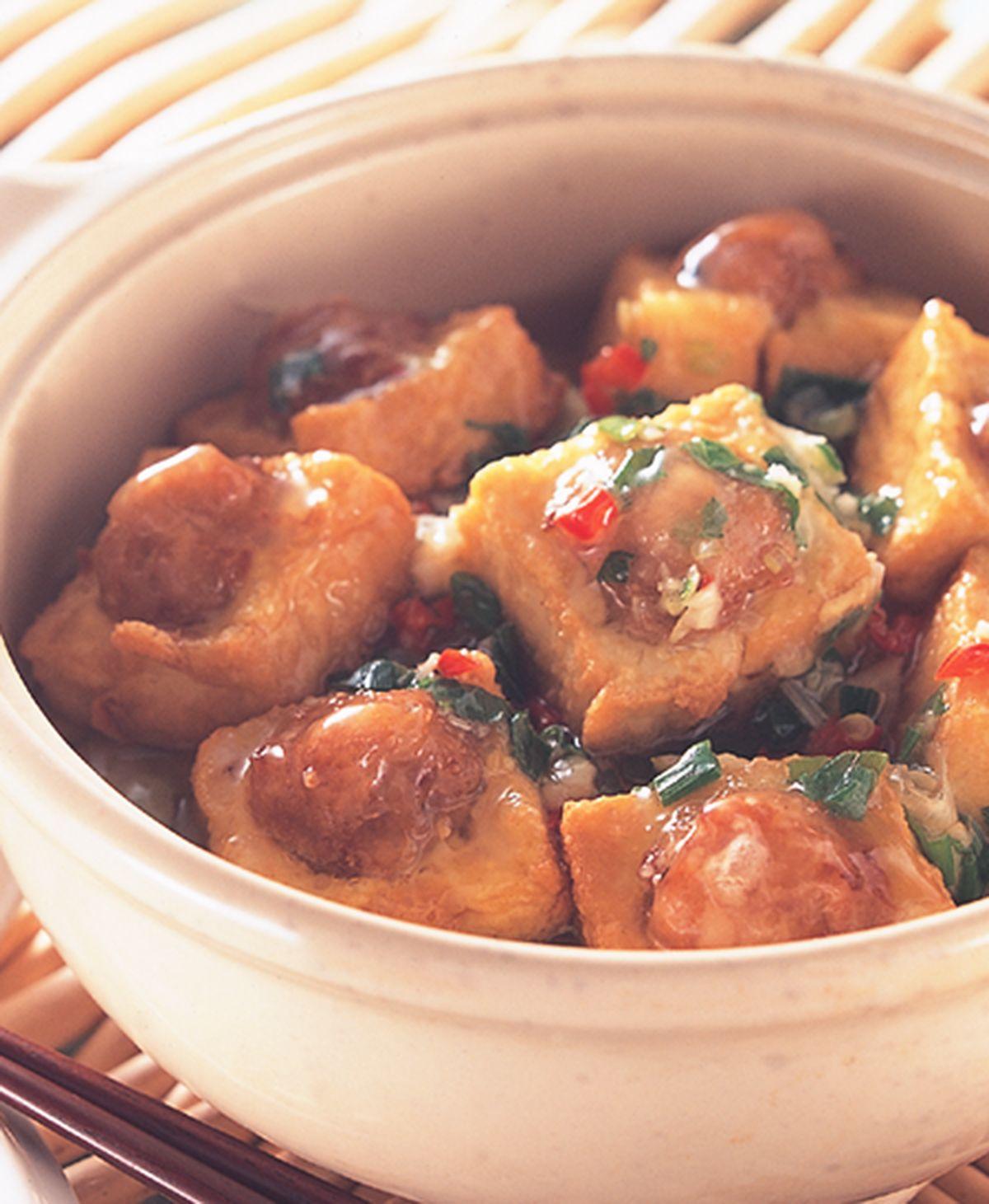 食譜:豆腐煲