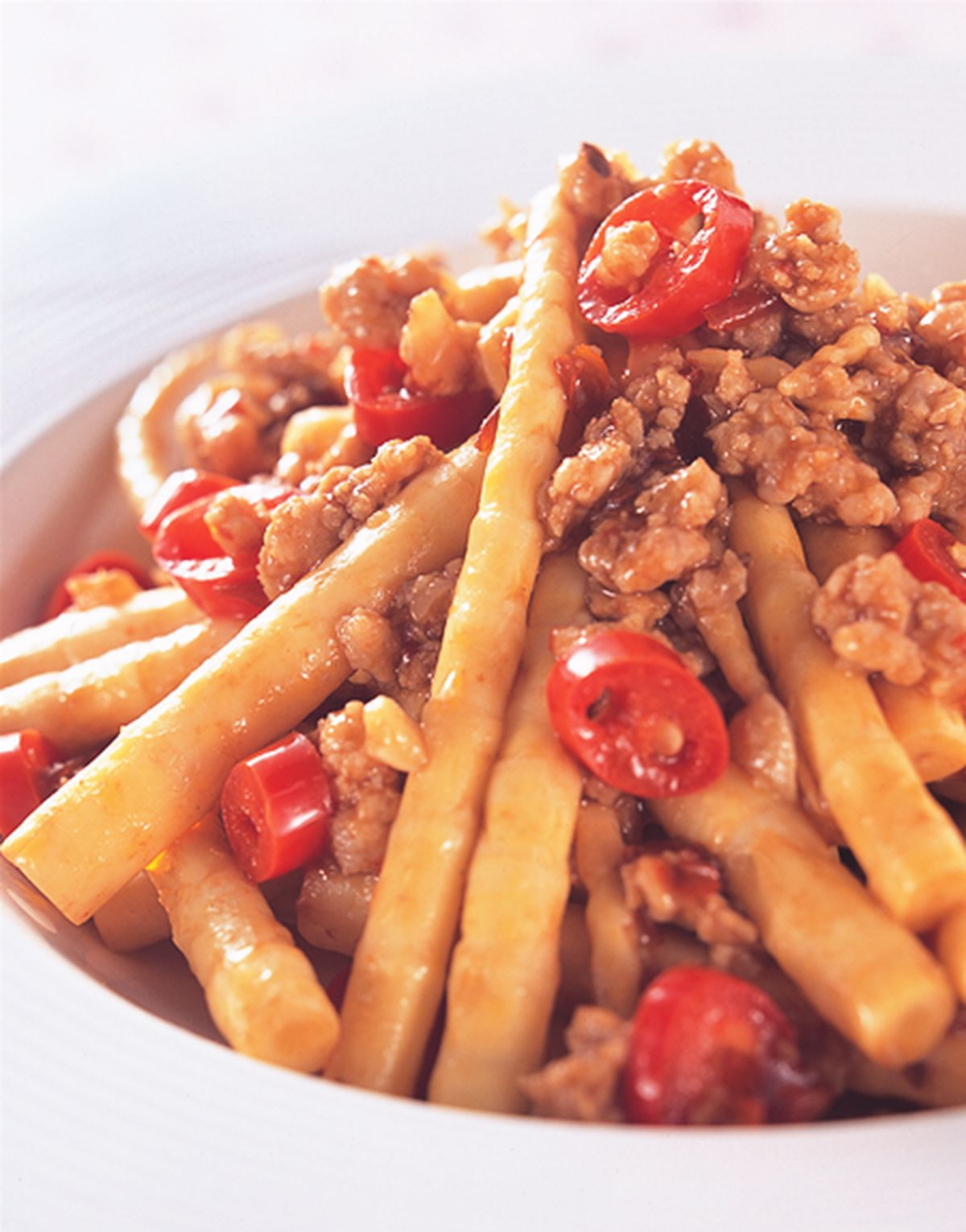 食譜:醬肉炒箭筍