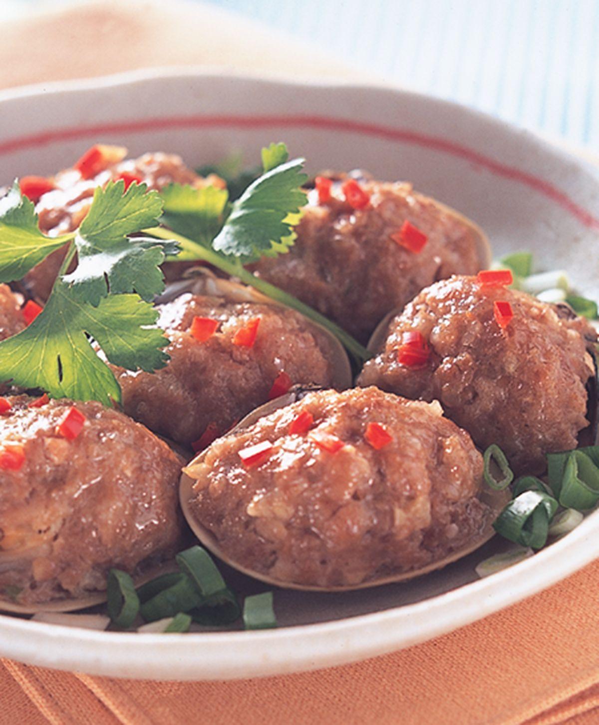 食譜:蛤蜊鑲肉