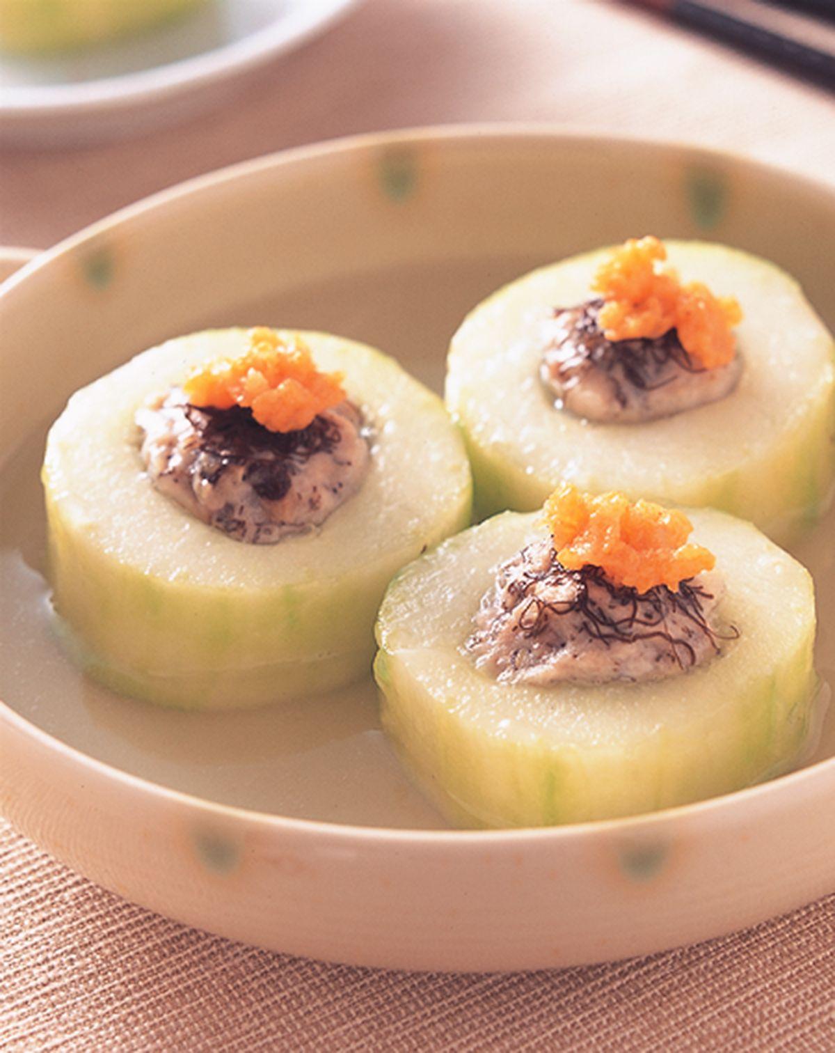食譜:絞肉鑲黃瓜湯