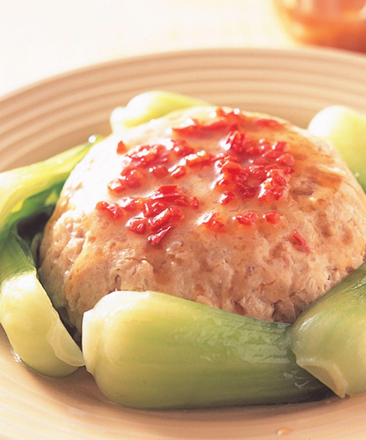 食譜:豆腐肉餅