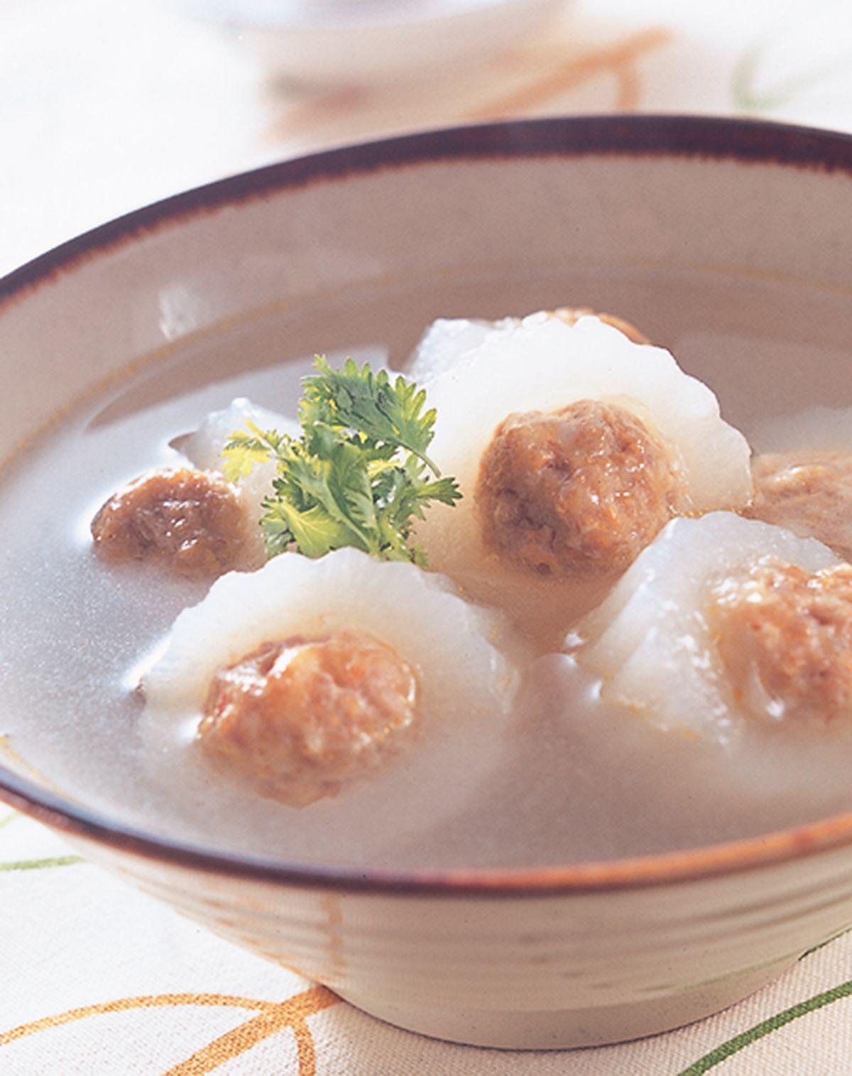 食譜:白玉丸子湯