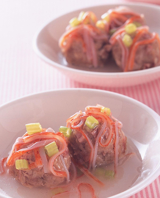 食譜:芋丁蒸肉丸子
