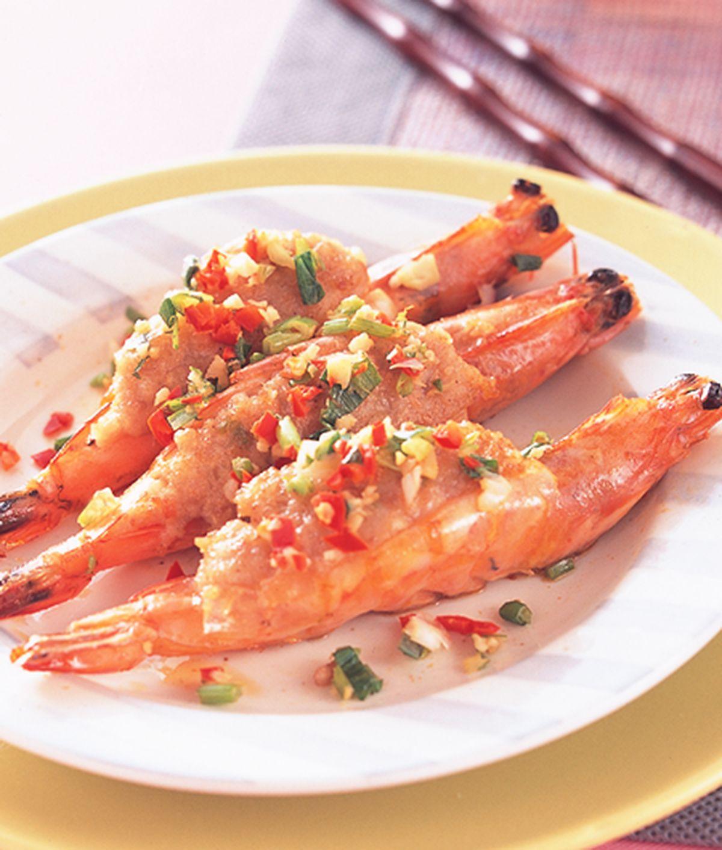 食譜:百花蝦