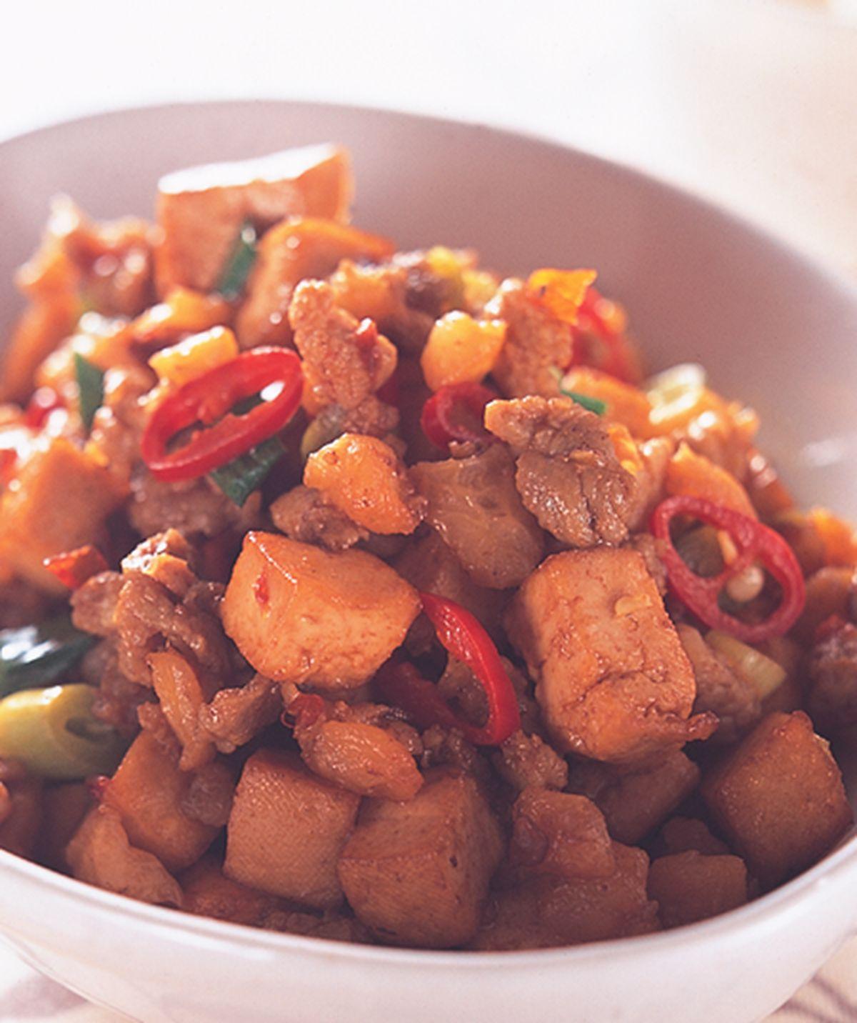 食譜:蒜香豆干