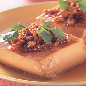 板豆腐滷絞肉