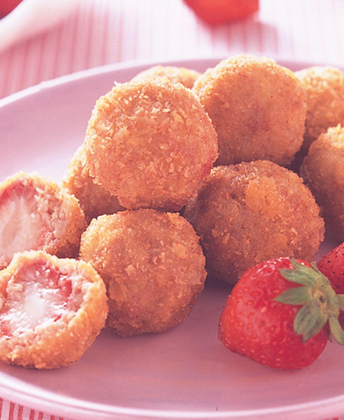 食譜:草莓丸子