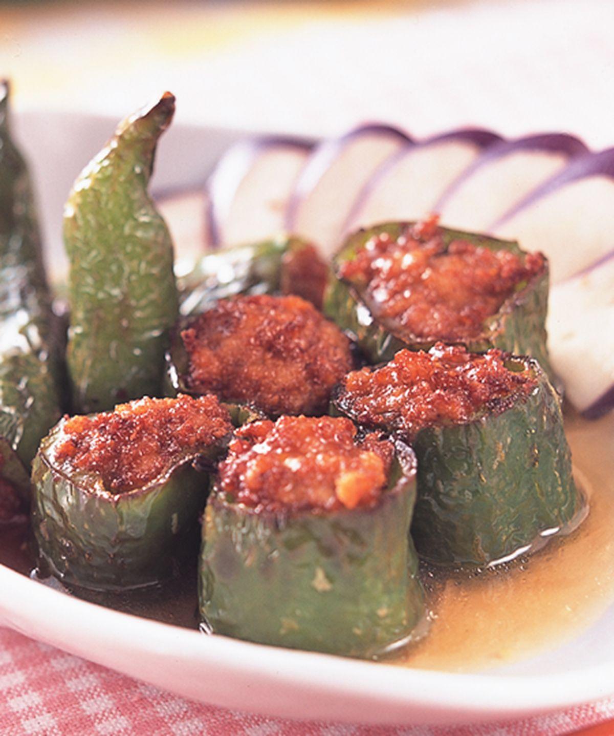 食譜:牛椒鑲肉