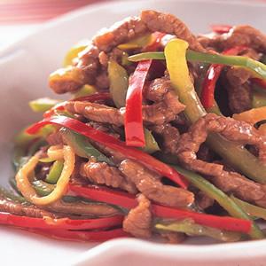 青椒牛肉絲(2)