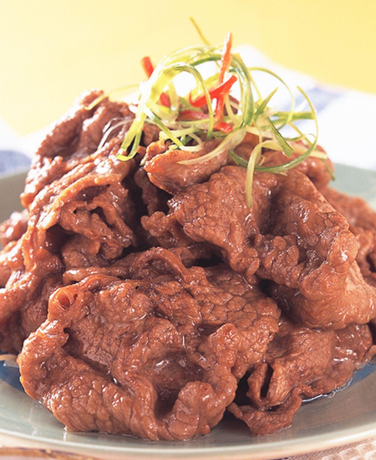 食譜:白灼牛肉片