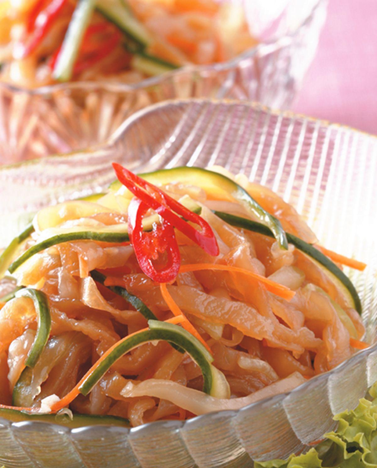 食譜:涼拌海蜇皮(3)