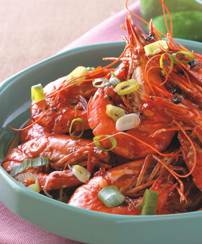 食譜:乾燒蝦